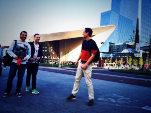 Rotterdam Centraal Statio - Where we go