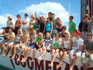 Zeilboot Boomerang Airlie Beach