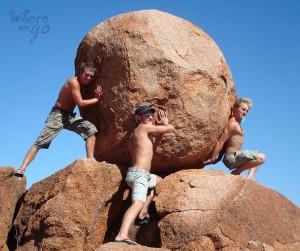 Road trip Outback Rocks - Where we go