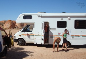 Road trip Outback campervan - Where we go