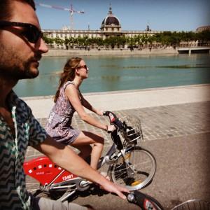 fietsen Lyon