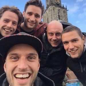 Weekend Groningen met de mannen Oudstudiegenoten dus lekker een paarhellip