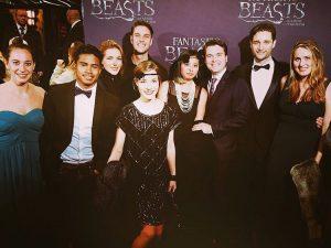 Premire van Fantastic Beasts in Tuschinski met de socialembassy crew!hellip