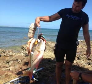 De vangst van de dag in Gibara