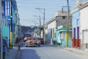 Het mooie straatbeeld van Holguin