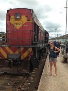 Met de trein naar Camagüey