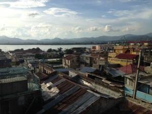 Uitzicht over Santiago de Cuba