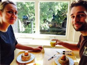 laatste ontbijtje aan de Oudegracht