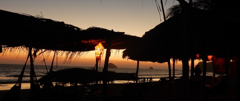 Avond in Zipolite, Mexico - Where we go