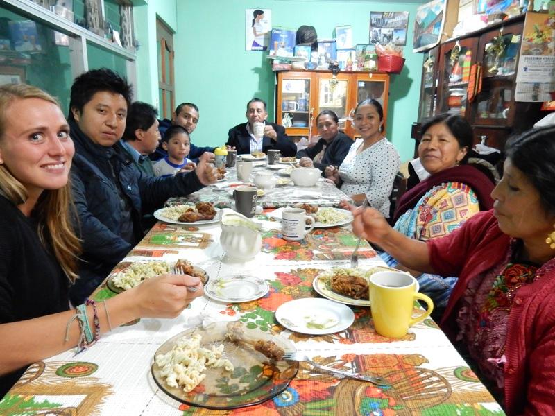 Guatemalteekse familie