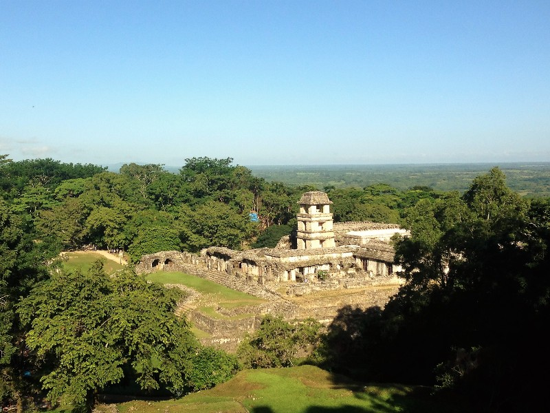 Maya ruines Palenque, Mexico - Where we go