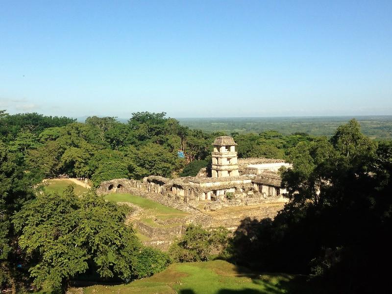 Maya ruines Palenque, Mexico - Where we go