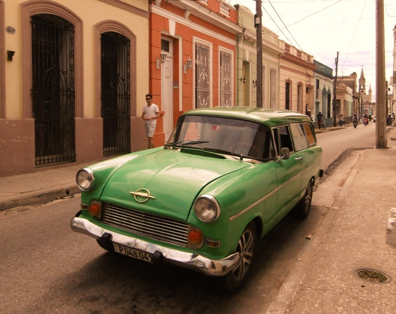 Oldtimer in Cuba, Camaguey - Where we go