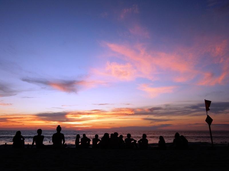 zonsondergang la punta