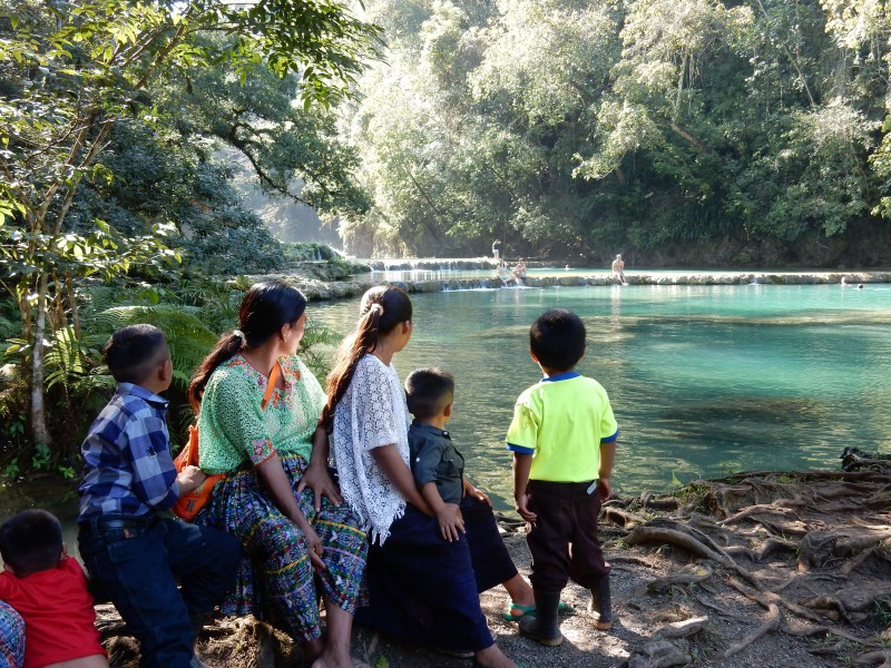 Semuc champey familie