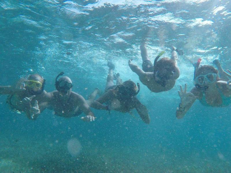 Snorkelen bij Caye Caulker