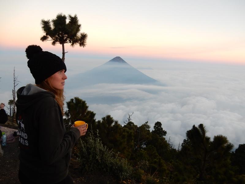 Uitzicht Acatenango