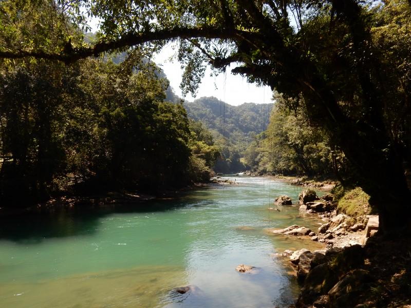rivier semuc