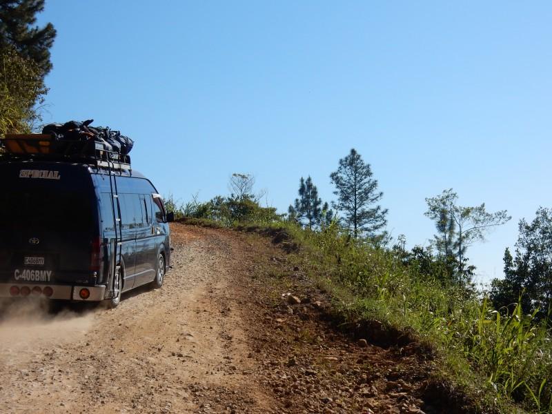 route naar Rio dulce