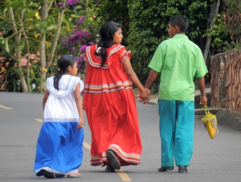 Traditionele kleding Panama