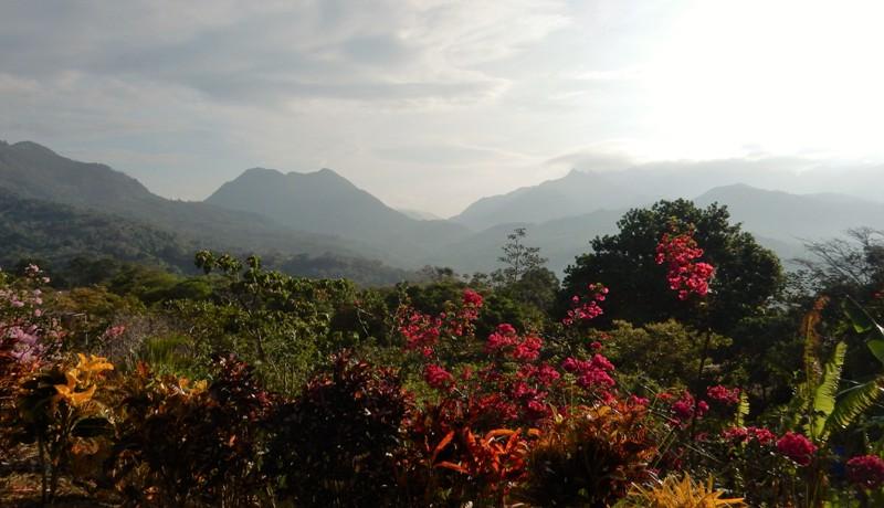 Uitzicht hotel Anachoreo, Santa Fe Panama