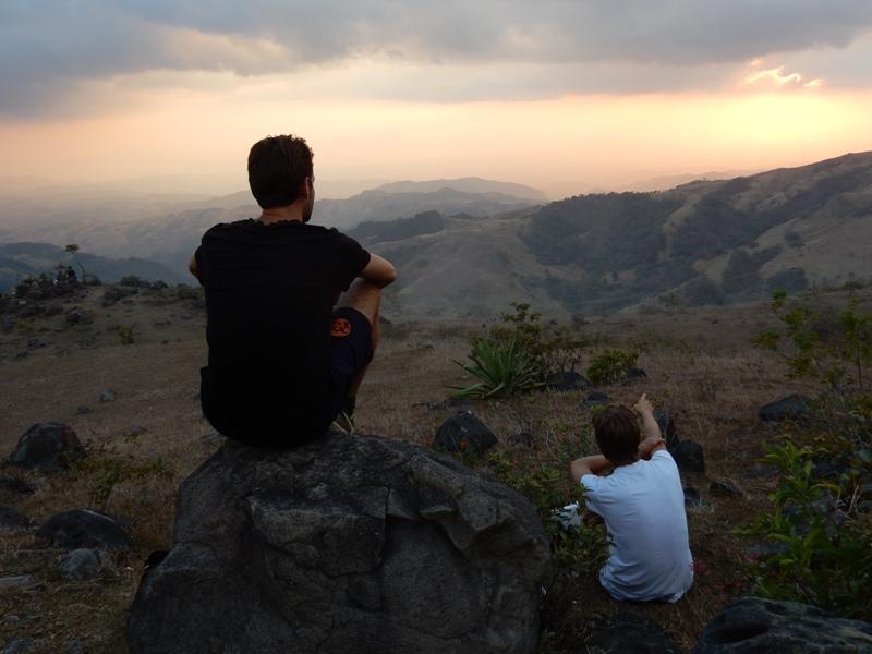 Zonsondergang Monteverde