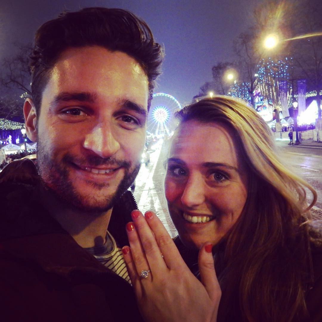 """Ze heeft """"Ja"""" gezegd, in Parijs!"""