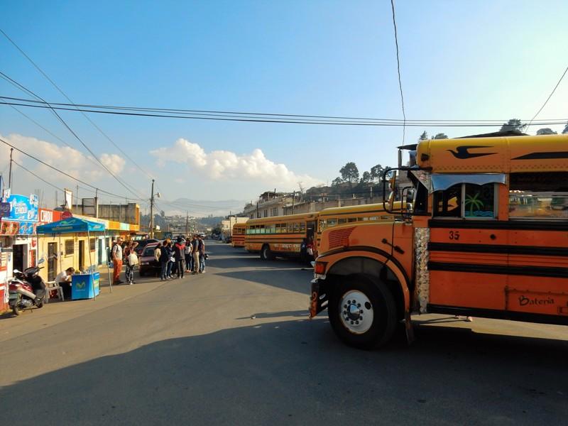 Bus in Xela