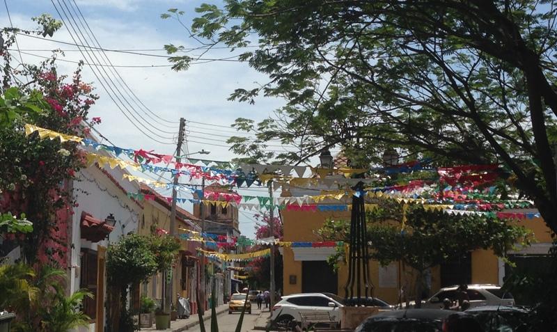 Cartagena straatjes